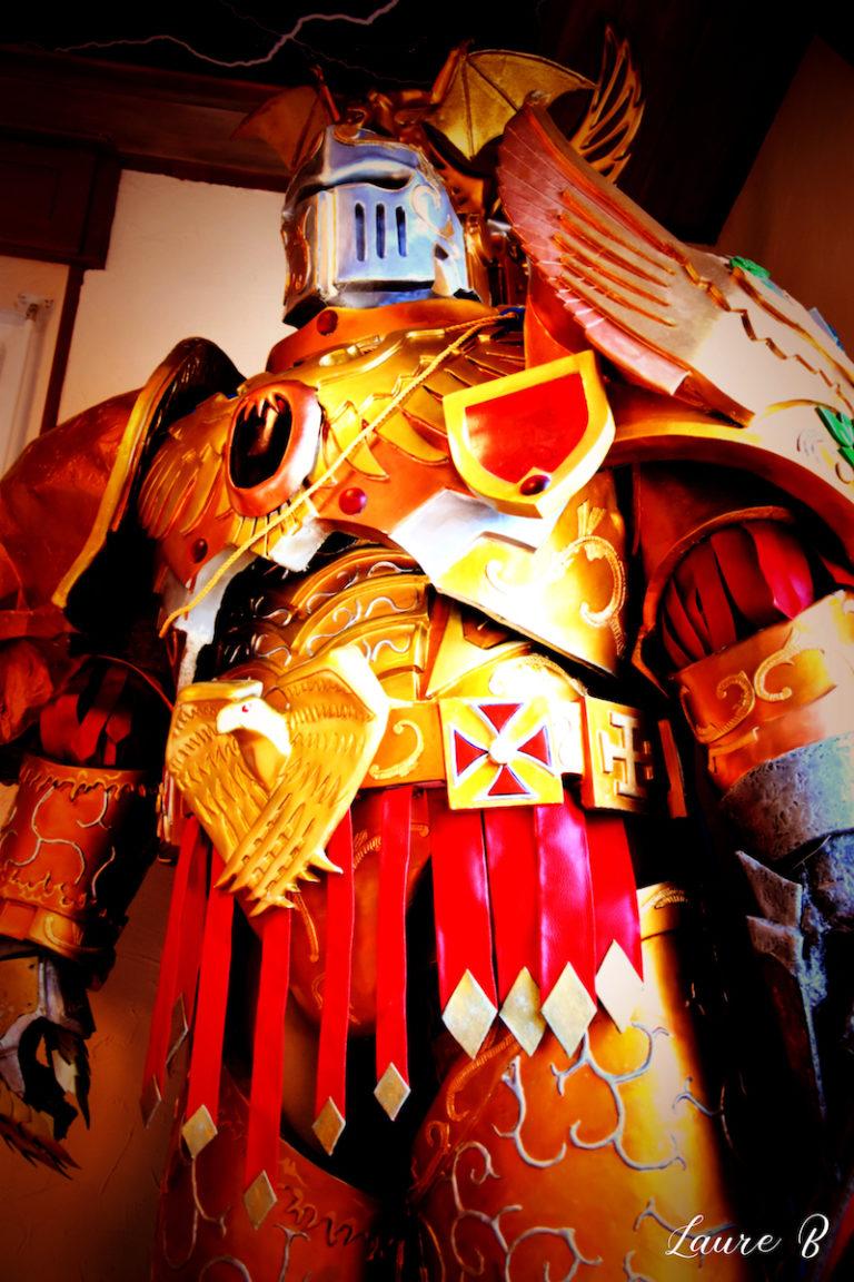 cosplay inspiration Warhammer 40 000 torse