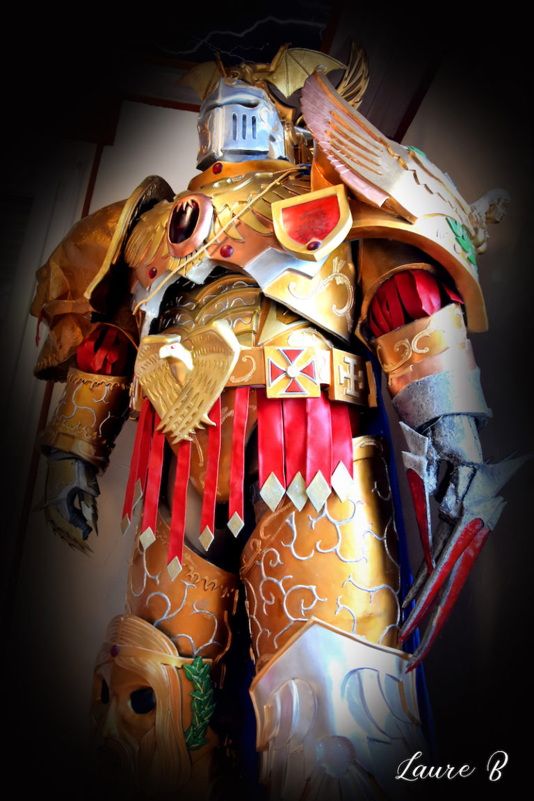 cosplay inspiration Warhammer 40 000 vue globale