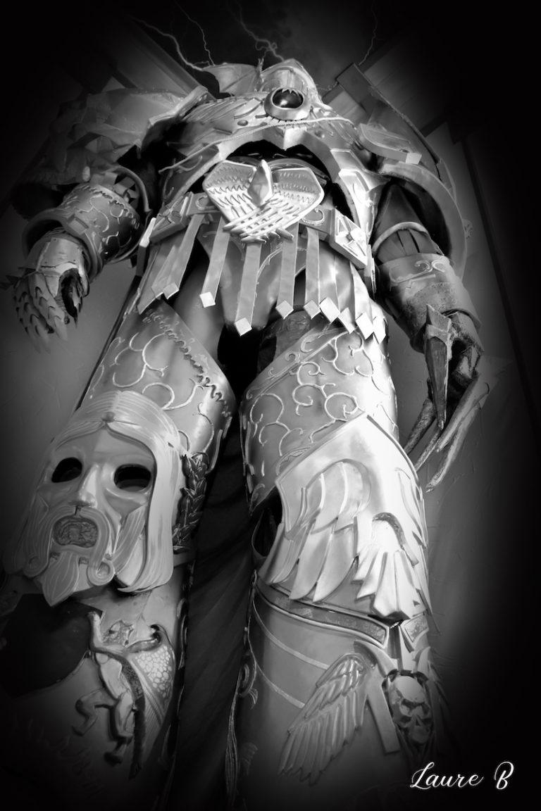 cosplay inspiration Warhammer 40 000 noir et blanc