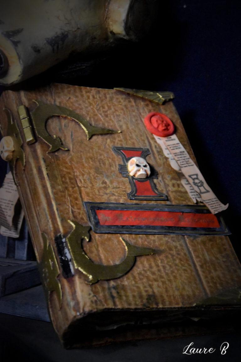 domaine anubis casque Warhammer 40k livre