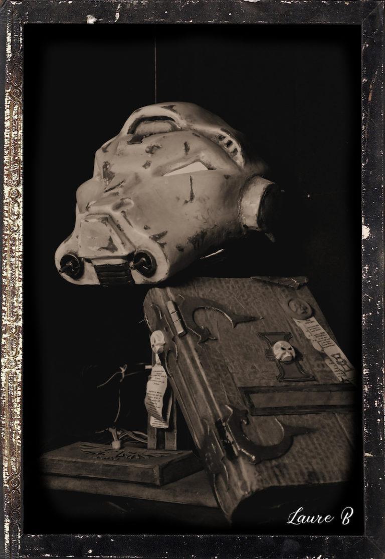 domaine anubis casque Warhammer 40k livre nb