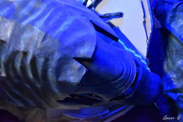 domaine Anubis Alien tête bleue