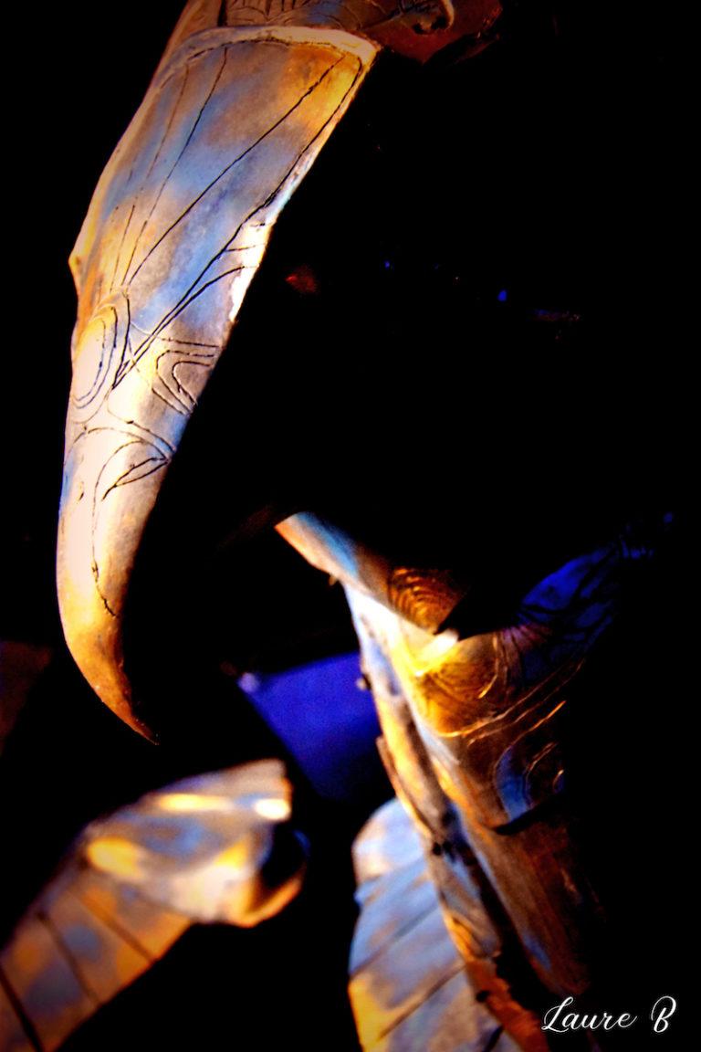 domaine Anubis tête bronze aigle