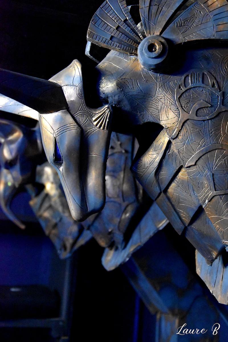 domaine Anubis tête Anubis bronze