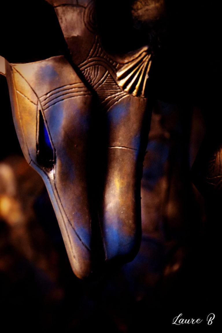 domaine Anubis tête Anubis bronze zoom