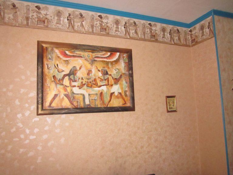 tableau style égyptien