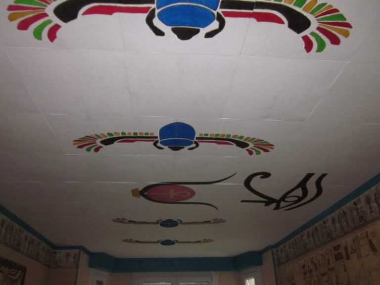 motif du plafond
