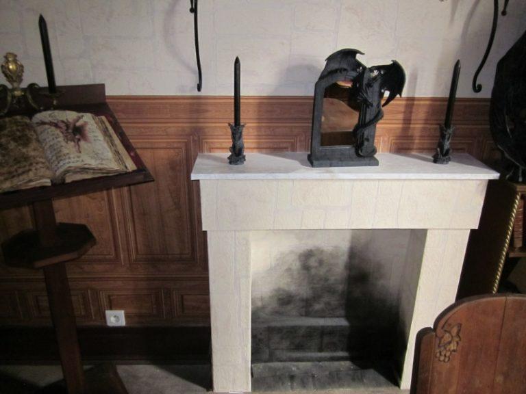 fausse cheminée
