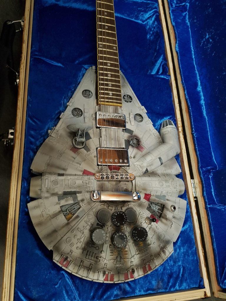 personnalisation de guitare millenium