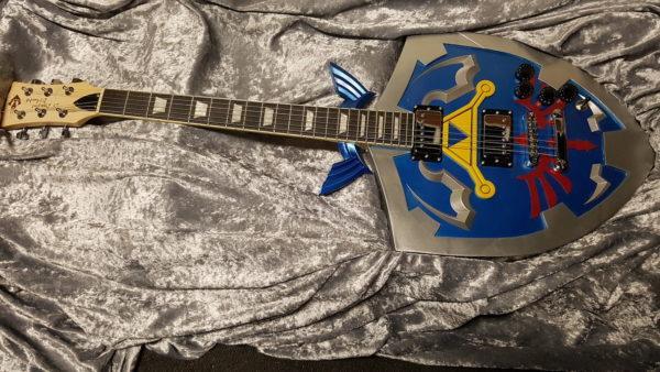 personnalisation de guitare