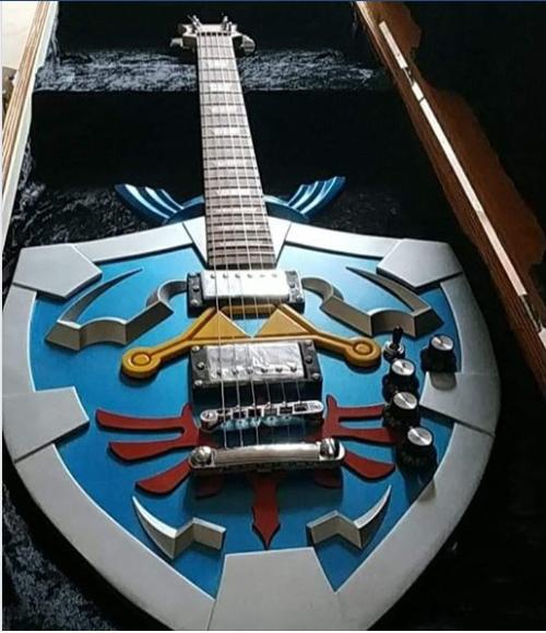 guitare dans coffret