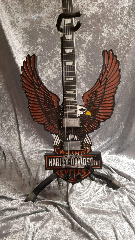 guitare Harley Davidson